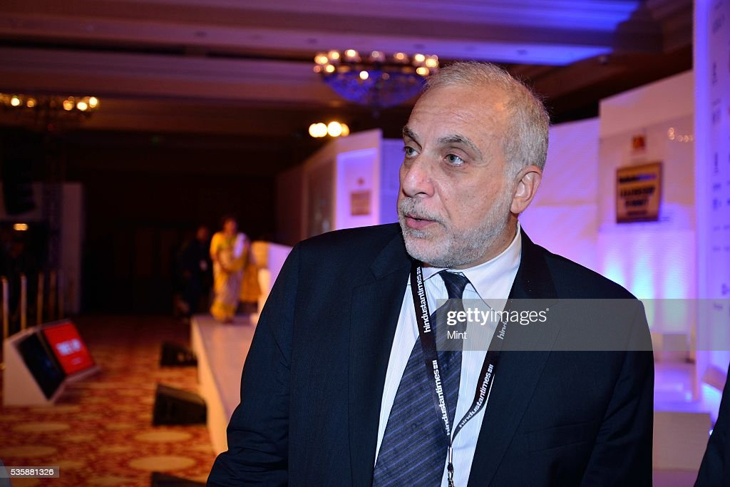Soli Ozel speaks during session ISIS - How to Fight the Best at Hindustan Times Leadership Summit 2015 on December 4, 2015 in New Delhi, India.
