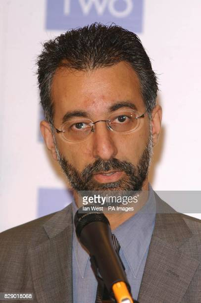 Solicitor Imran Khan who is chairman of the judging panel at this years EMMA awards during the launch of the Ethnic Multicultural Media Academy...