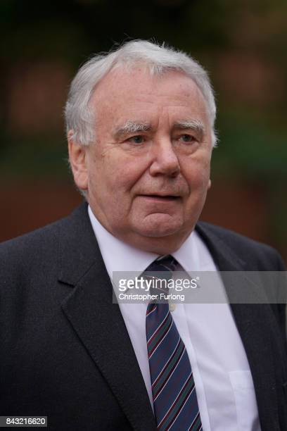 Solicitor Peter Metcalf who acted for South Yorkshire Police following the Hillsborough disaster arrives at Preston Crown Court on September 6 2017...