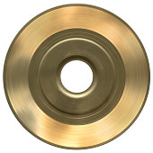 Solid Gold 45 with Clipping Path