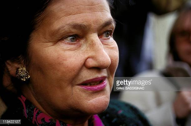 'Solidarity Shop' Inaugurated In Paris With Abbe Pierre And Simone Veil On November 23th1993