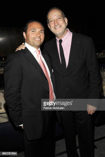 Solly Assa and Enrique Norten attend ENRIQUE NORTEN Private Dinner Celebrating the 25th Anniversary of TEN ARQUITECTOS at The Four Seasons Restaurant...