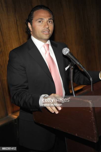 Solly Assa attends ENRIQUE NORTEN Private Dinner Celebrating the 25th Anniversary of TEN ARQUITECTOS at The Four Seasons Restaurant on June 8 2009 in...