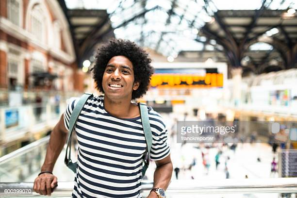 solo traveler in london liverpool street station