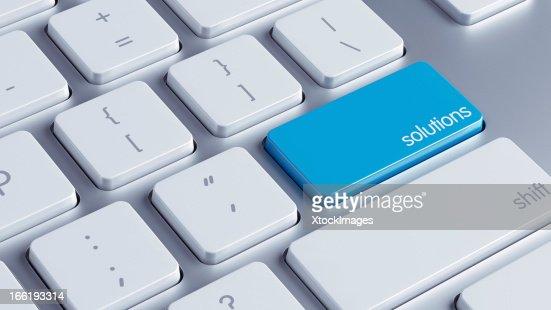 Solutions Key : Stock Photo
