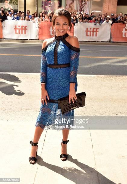 Soma Chhaya attends 'The Breadwinner' premiere during the 2017 Toronto International Film Festival at Winter Garden Theatre on September 10 2017 in...