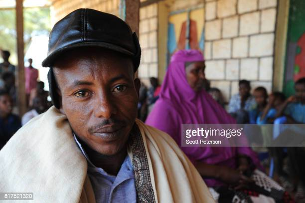 Somali man Mohamed Farah speaks about how he and other villagers benefited from food and cash donations mobilized by a WhatsApp group called...