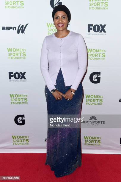 Somali Olympic Committee member Suad Galow attends the The Women's Sports Foundation's 38th Annual Salute To Women in Sports Awards Gala on October...