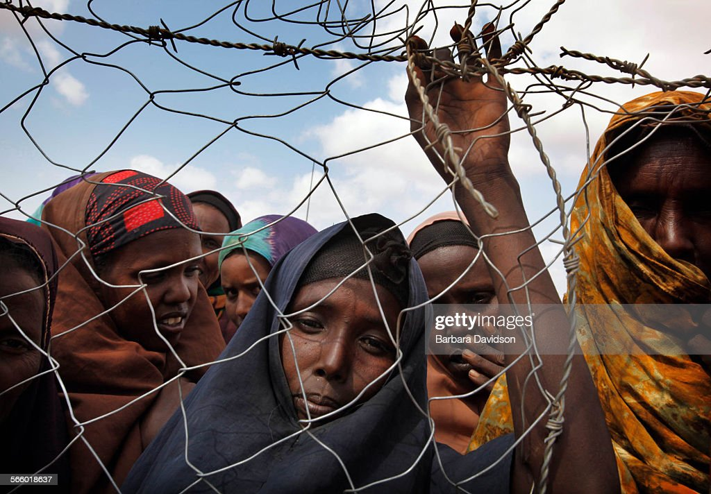 Somali refugees known as 'new arrivals' wait to be registered at Camp IFO on the outskirts of Dadaab Depending on which aid agency you ask000 to 2000...