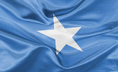 High resolution digital render of Somalia flag.