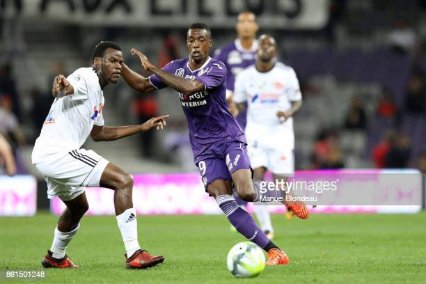 Somalia of Toulouse during the Ligue 1 match between Toulouse and Amiens SC at Stadium Municipal on October 14 2017 in Toulouse