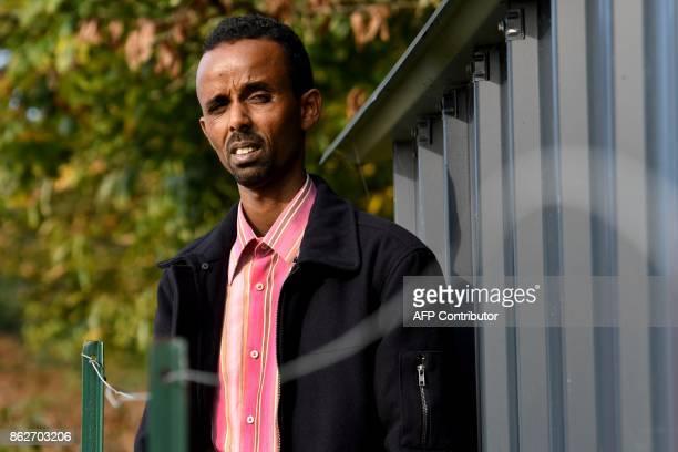 Somalian's former sea pirate Mohamed Mahamoud poses on October 16 2017 in Redene western France Mohamed Mahamoud sentenced to 9 years in prison in...
