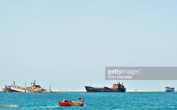 Somalis sail off the harbour of Berbera in Somalia's breakaway Republic of Somaliland on April 30 2011 As piracy has flourished and turned...