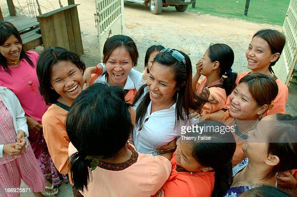Somaly Mam a 34year old Cambodian founder and president of AFESIP an international NGO combatting trafficking in women and children for sex slavery...