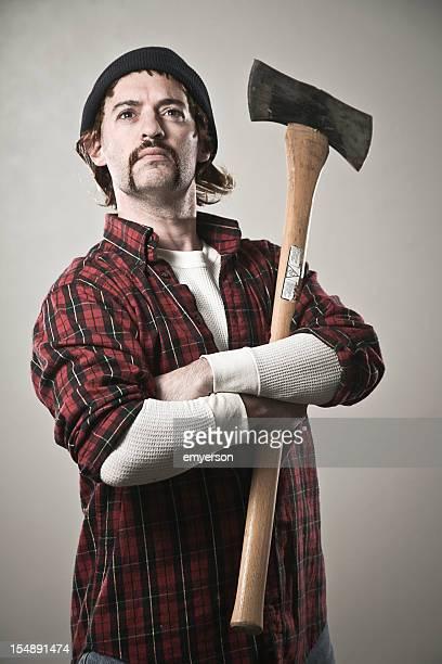 Somber Lumberjack