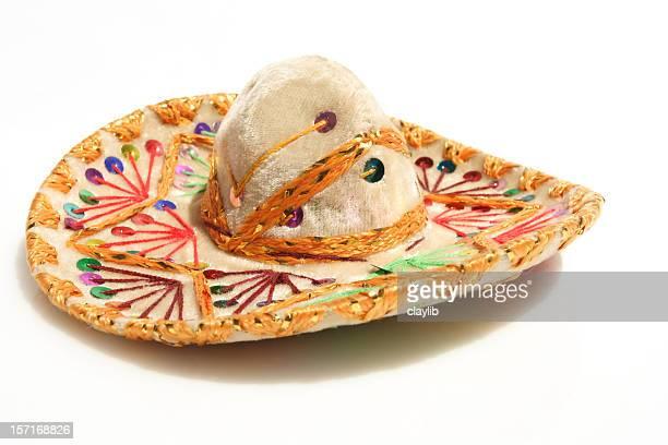 sombrero isolated on white