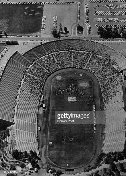 Some 17000 Turned Out At Folsom Stadium At Boulder To Cheer Astronaut Scott Carpenter After accepting a degree in aeronautical engineering he paraded...