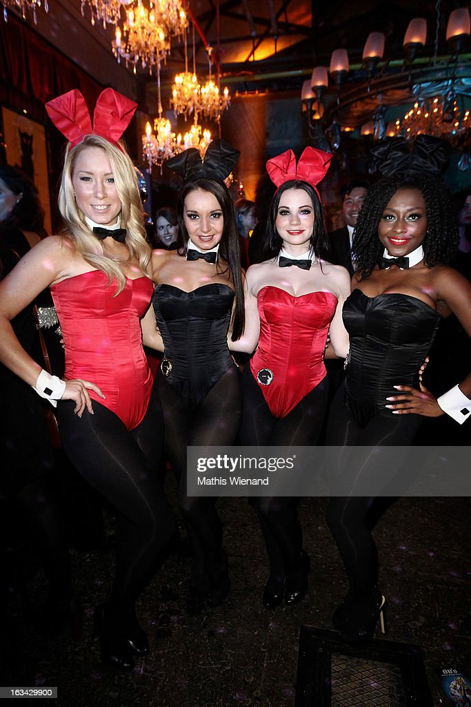 Some Bunnies at the Bond Birthday Party of Barbara Sturm on March 9, 2013 in Duesseldorf, Germany.