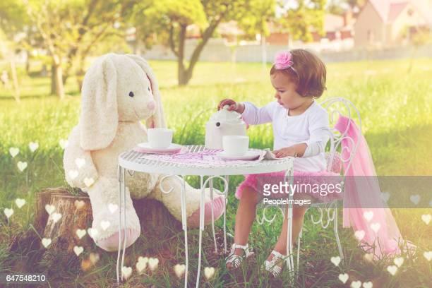 Some more tea, Mrs. Rabbit?