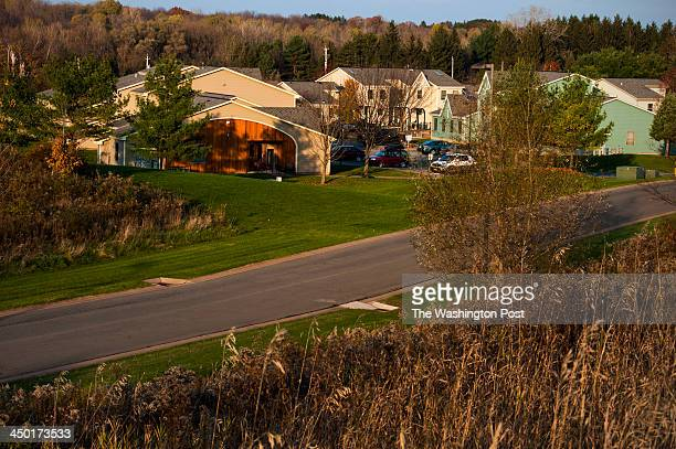 Some of the 1000 Oneida Nation members live in the Village of White Pines at Dream Catcher Court which is photographed Wednesday October 30 2013 in...