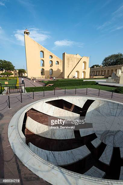 Some of the architectural astronomical instruments at Jantar Mantar built by Sawai Jai Singh