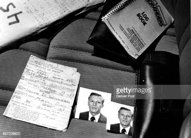 Some of the articles found in Schrock's truck were pictures a birth certificate and of logbooks which Schrock apparently kept meticulous notes and...