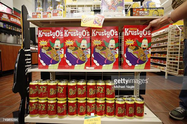 Some of the items for sale are on display at the 711 on 345 W 42nd Street converted into a KwikEMart from the longrunning television cartoon show...