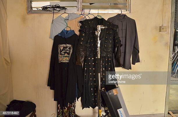 Some of the performers' costumes on the Hong Kong film set of Rigor Mortis a horror film about vampires The film is Juno Mak's directorial debut and...