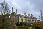 Some residence houses near Kings College in Cambridge, England