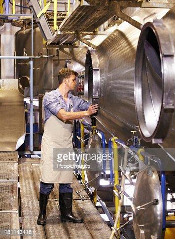 Some routine machine maintenance