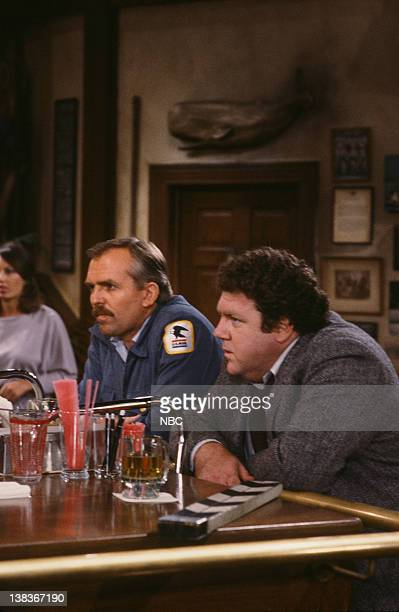 CHEERS 'Someday My Prince Will Come' Episode 3 Air Date Pictured John Ratzenberger as Cliff Clavin George Wendt as Norm Peterson
