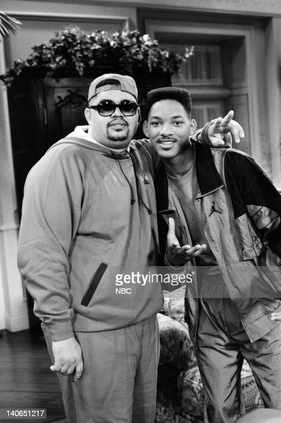 AIR 'Someday Your Prince will be in Effect Part 1 2' Episode 8 9 Pictured Heavy D as himself Will Smith as William 'Will' Smith  Photo by Ron...