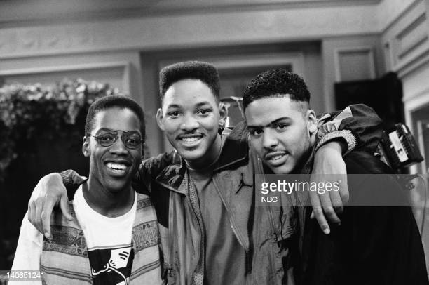 AIR 'Someday Your Prince will be in Effect Part 1 2' Episode 8 9 Pictured Kadeem Hardison Will Smith as William 'Will' Smith Al B Sure Photo by Ron...
