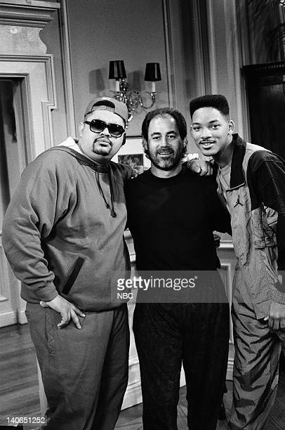 AIR 'Someday Your Prince will be in Effect Part 1 2' Episode 8 9 Pictured Heavy D as Himself Jeffrey Melman Will Smith as William 'Will' Smith Photo...
