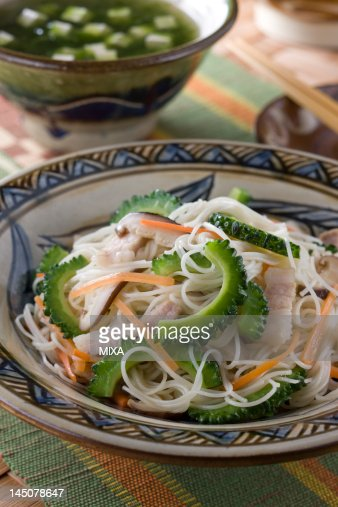 Somen Chanpuru : Stock Photo
