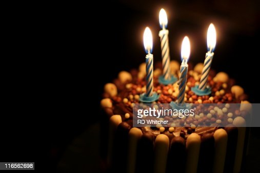 Someone had birthday : Stock Photo