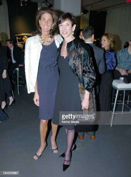 Somers Farkas and Amy Fine Collins during Gotham Magazine Somers Farkas and Audi Celebrate the Never Before Seen 2008 Audi S5 with a Party Featuring...