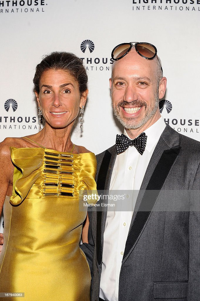 Somers Farkas (L) and Robert Verdi attend the 5th Annual 'A Posh Affair' Gala at 583 Park Avenue on May 2, 2013 in New York City.