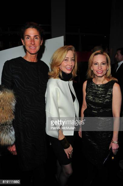 Somers Farkas Shawn Handler and Gillian Miniter attend ARMANI Red Carpet Retrospective hosted by Amy Fine Collins in partnership with Vanity Fair at...