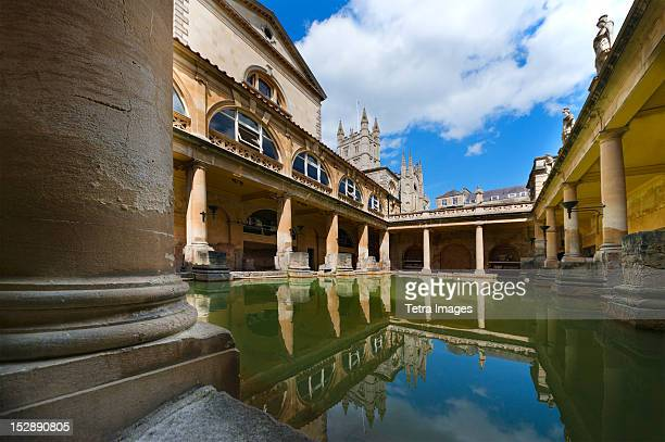 UK, Somerset, Bath, Roman Baths