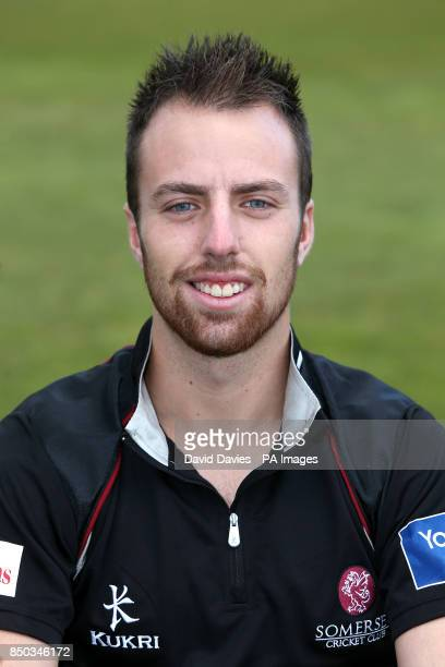 Somerset County Cricket Club's Jack Leach pictured during a photocell at The County Ground Somerset