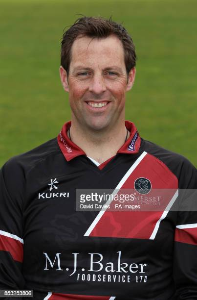 Somerset's Marcus Trescothick during a media day at The County Ground Taunton