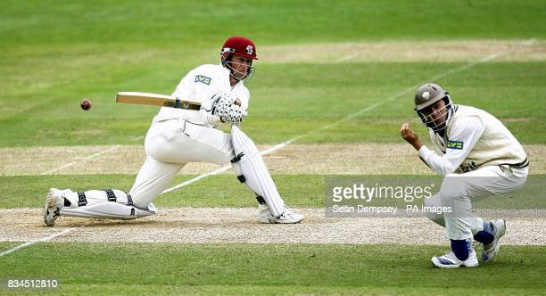 Somerset's Marcus Trescothick during the LV County Championship match at Whitgift School Surrey