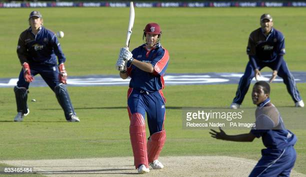 Somerset's Marcus Trescothick in action during the NatWest Pro40 League Division Two match at the Brit Oval London