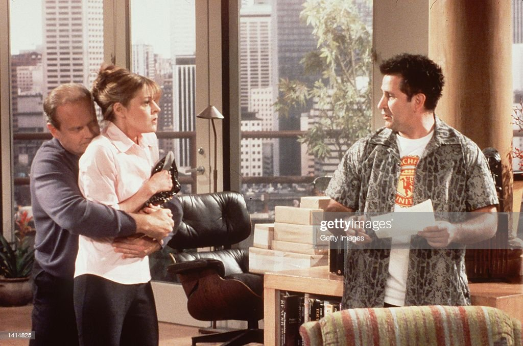 Something borrowed someone blue Kelsey Grammer Jane Leeves and Anthony Lapaglia from the show 'Frasier' Photo Credit Paul Drinkwater NBC/Deliverd by...