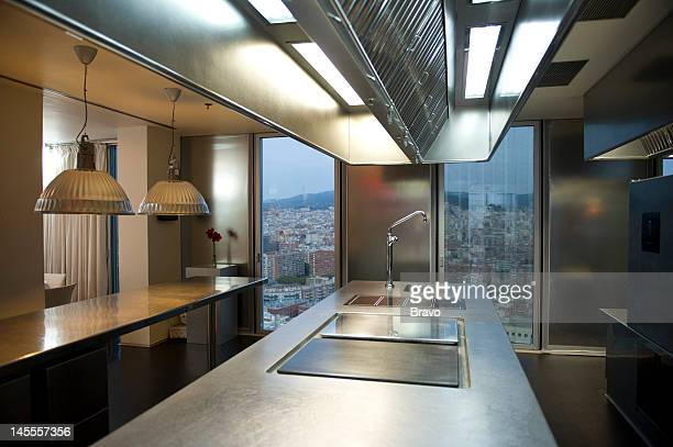 PLATES 'Something Smells Fishy' Episode 103 Pictured Restaurante Dos Cielos in Barcelona Spain in 2011
