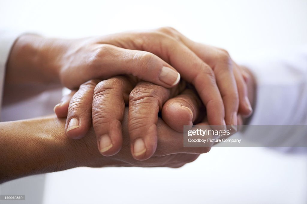 Sometimes you need a hand to hold