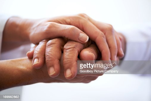 時には、手を保持する必要があります