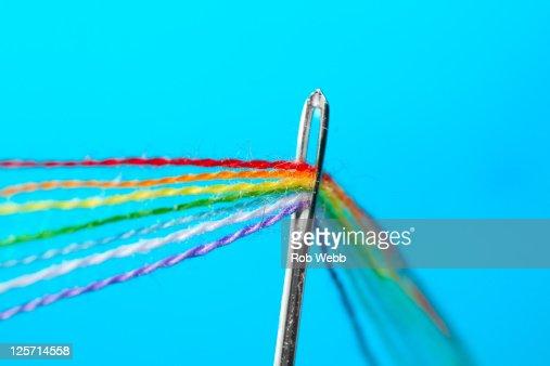 Somewhere, over rainbow : Stock Photo