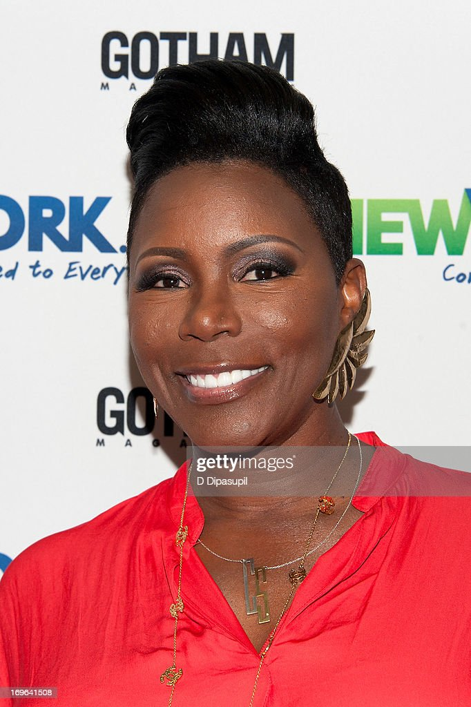 Sommore attends the NewYork.com launch party at Arena on May 29, 2013 in New York City.
